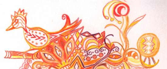 doodle detail by Joan Desmond 2013