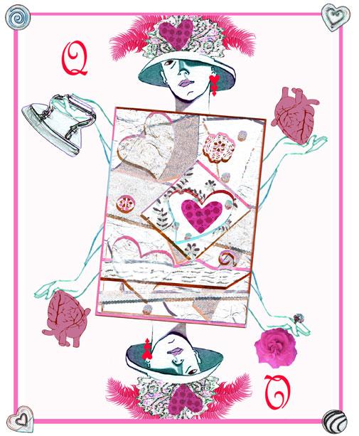 Queen of Hearts by Joan Desmond 2013